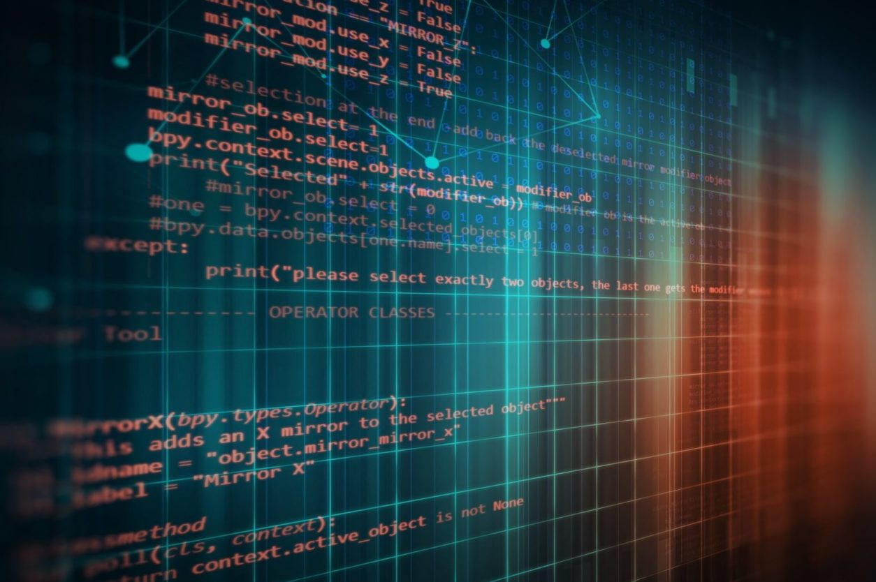 11Programming code abstract technology background of software deve