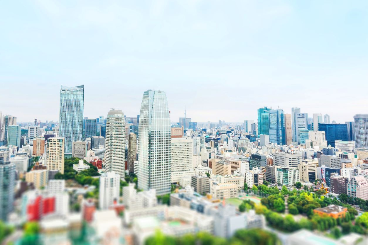 11Ranged photo of a city
