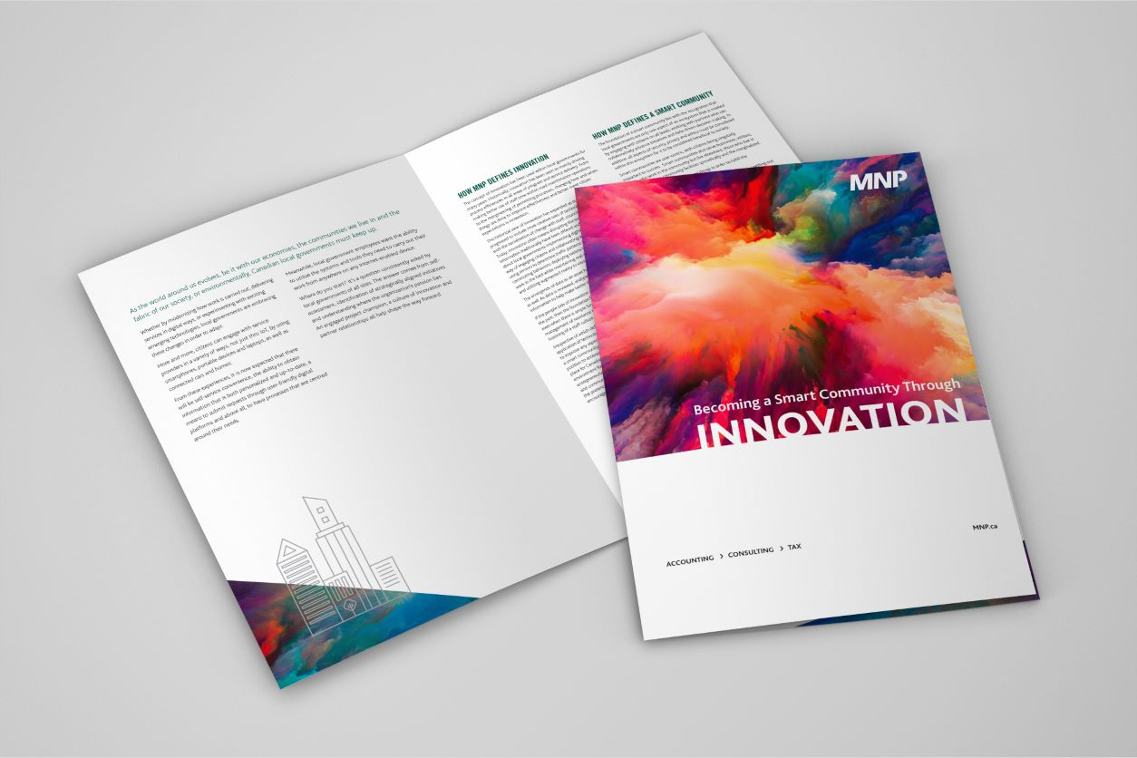 11Printed brochure - Becoming a Smart Community Through Innovation