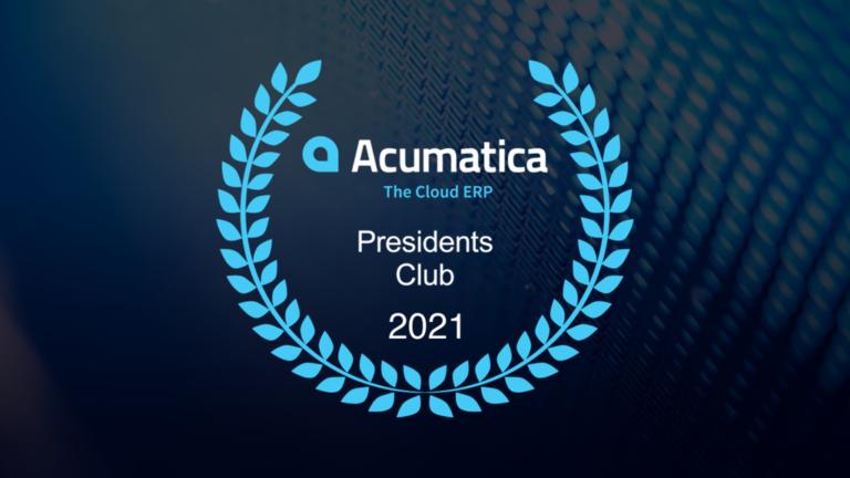 11acumatica PC award